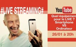 Smartphone VS Ordinateur : le meilleur pour le Live…